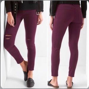 Gap easy leggings high stretch Mid rise Skinny 32R